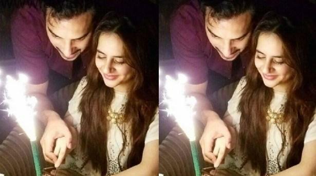 Fatima Effendi Birthday With Kanwar Arsalan