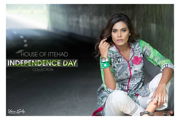 Ittehad Textiles Independence Day Dresses 2016 For Women002