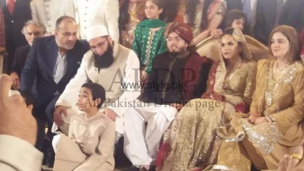 See Junaid Jamshed's son got married