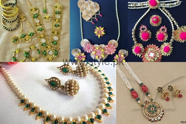See Latest Bridal Mehndi Jewellery 2016