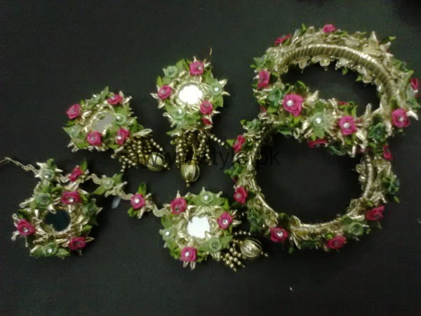 Latest Bridal Mehndi Jewellery 2016 (14)