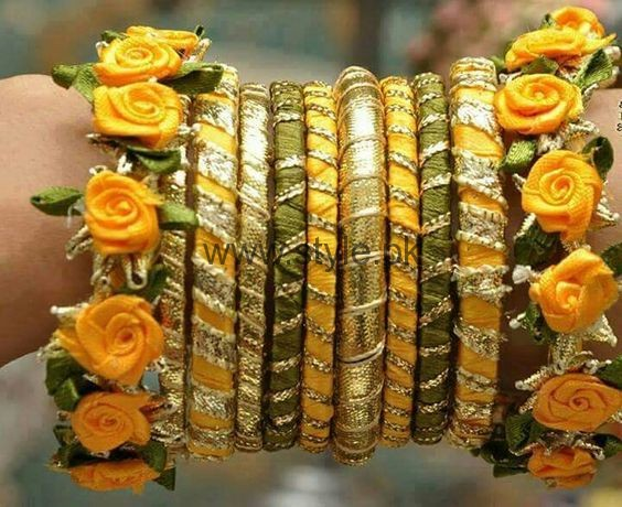 Latest Bridal Mehndi Jewellery 2016 (16)