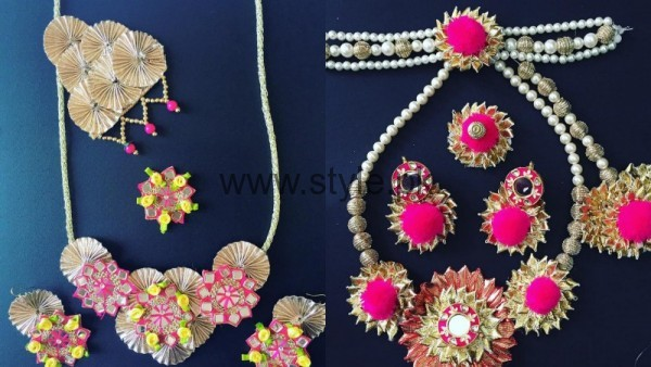 Latest Bridal Mehndi Jewellery 2016 (19)