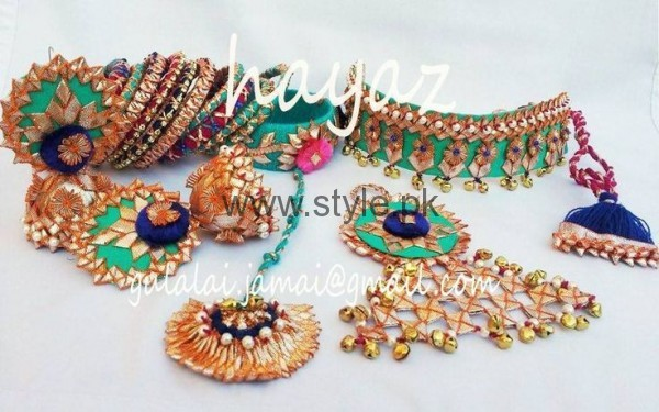 Latest Bridal Mehndi Jewellery 2016 (20)