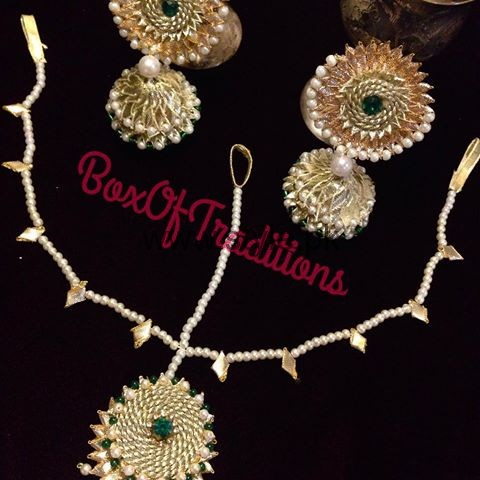 Latest Bridal Mehndi Jewellery 2016 (27)