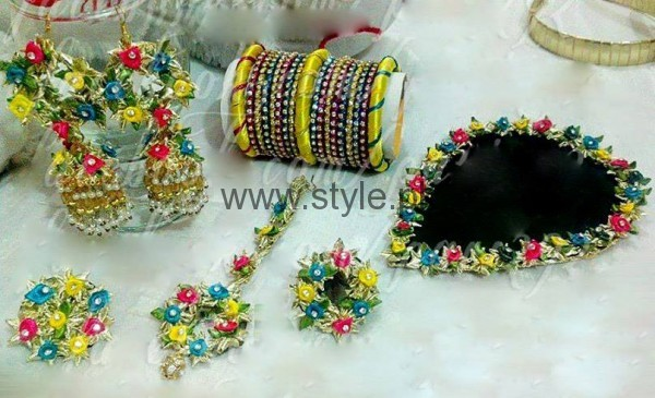 Latest Bridal Mehndi Jewellery 2016 (6)