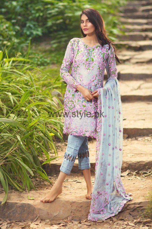 Latest Embroidered dresses 2016 for Newly Married girls (2)