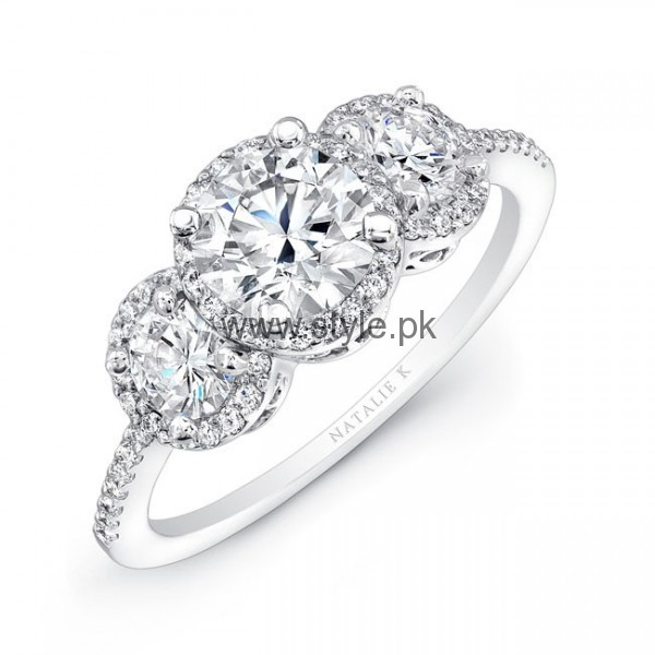 Latest Engagement Diamond Rings for Girls 2016 (20)
