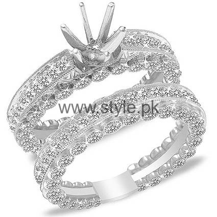 Latest Engagement Diamond Rings for Girls 2016 (4)