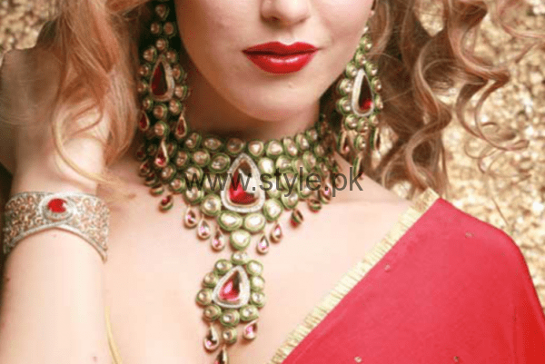 Latest Kundan Bridal Jewellery 2016 (1)