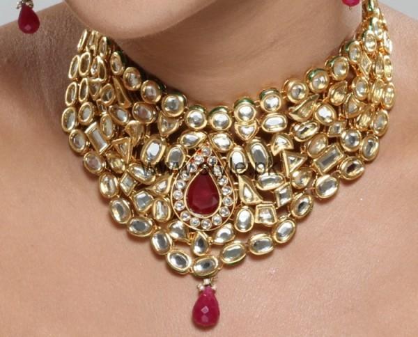Latest Kundan Bridal Jewellery 2016 (16)