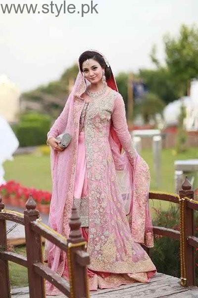 Latest Pakistani Engagement Dresses