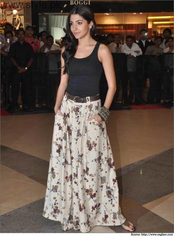 Anushka Sharma in Long Skirt