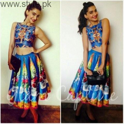 Sonam Kapoor skirt