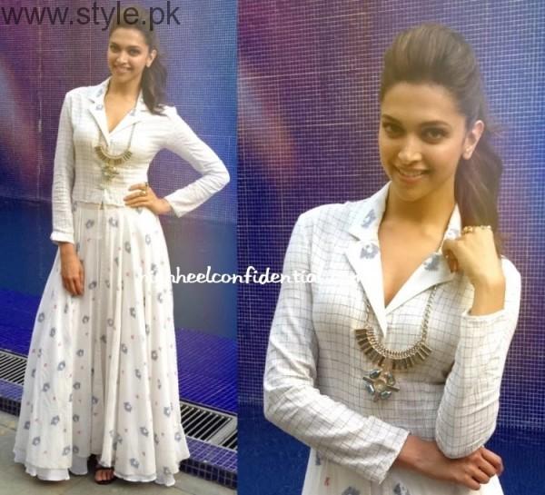 Deepika in Long Skirt