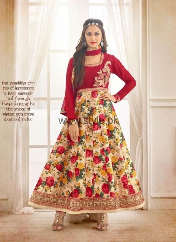Latest Party Wear Dresses 2016 for Women (2)