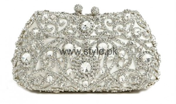 Latest Silver Bridal Clutches 2016 (6)