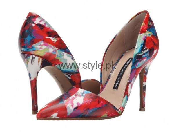 Latest Summers Floral Heels 2016 (1)
