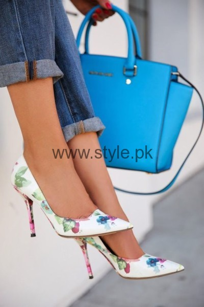 Latest Summers Floral Heels 2016 (19)
