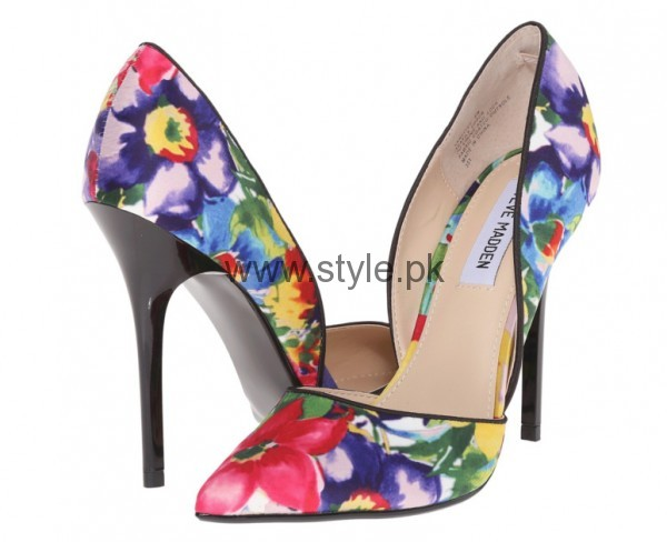 Latest Summers Floral Heels 2016 (6)