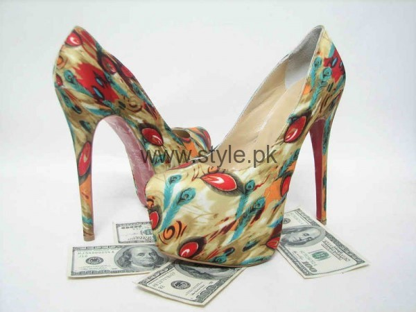 Latest Summers Floral Heels 2016 (8)