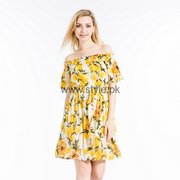 Latest Summers Floral dresses 2016 (3)