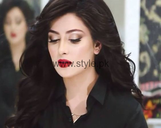 Makeup Ideas 2016 for Black dresses (7)