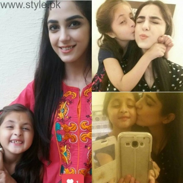 Maya Ali and Maryam Khalif