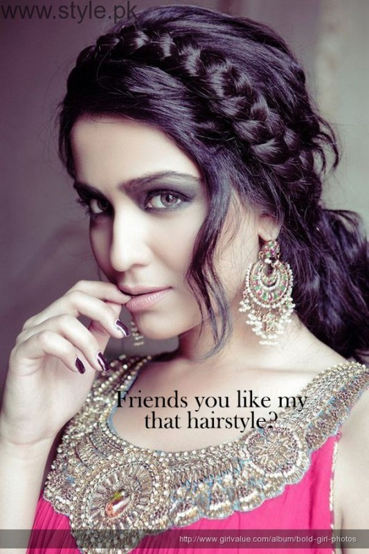 Pakistani Actresses in Braids (3)