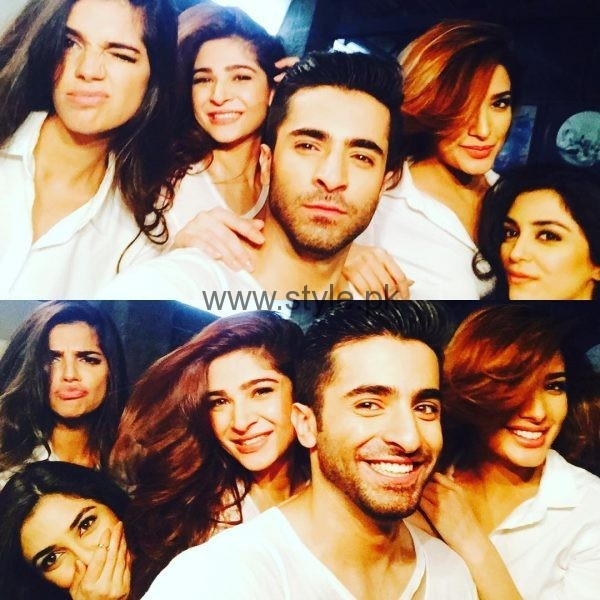 Pakistani Celebrities At Vogue India Shoot