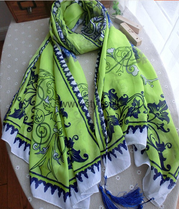 Pakistan's Independence Day Scarves 2016 (8)