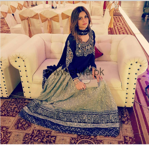 Pictures of Arij Fatyma at her Friend's Wedding (5)