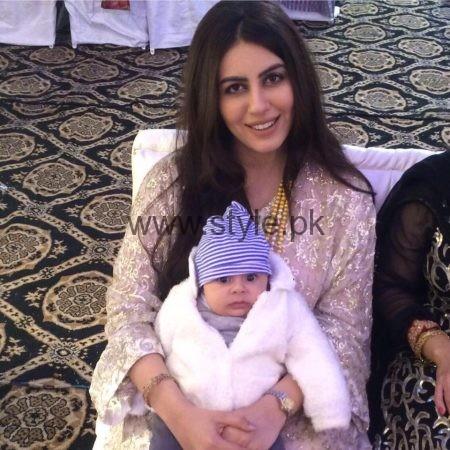Saba Faisal Family Pics