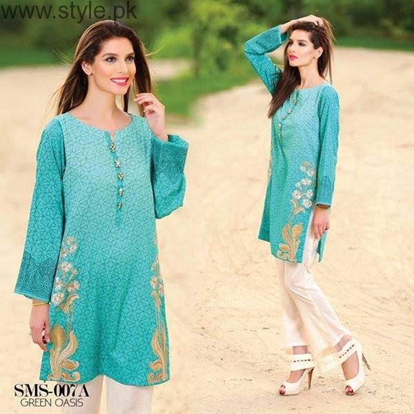 Sana & Samia Midsummer Dresses 2016 By Lala Textiles006