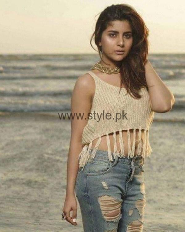 Sohai Ali Abro Beach Photoshoot