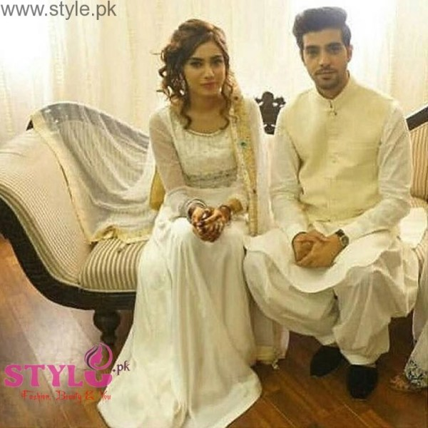 furqan qureshi and sabrina naqvi nikah pictures