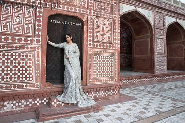 Ayesha And Usman Qamar Bridal Dresses 2016 For Women003