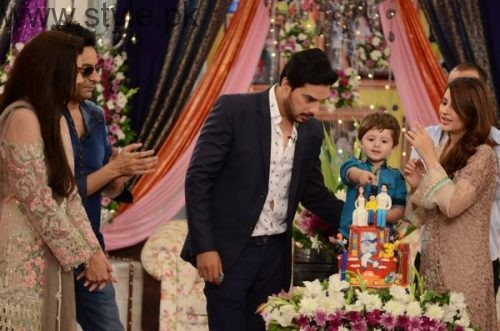 Fatima Effendi and Kanwar Arsalan celebrated their son's third birthday (5)