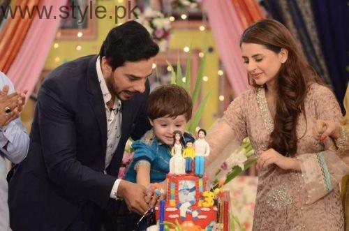 Fatima Effendi and Kanwar Arsalan celebrated their son's third birthday (7)