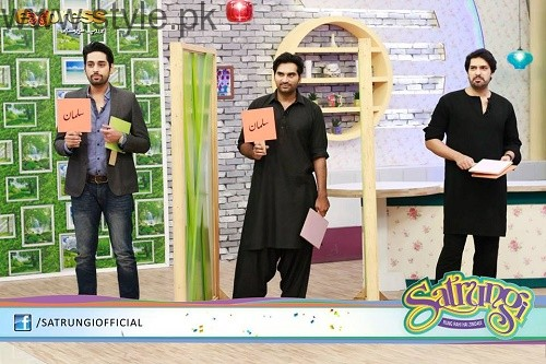Humayun Saeed with his brothers (5)