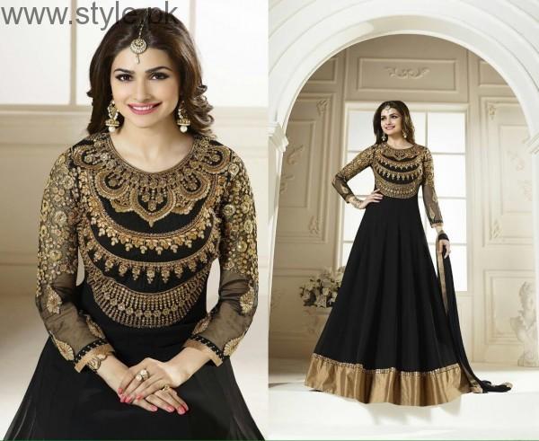 Latest Black Eid Dresses 2016 (14)