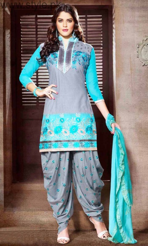 Latest Pakistani Eid Dresses 2016 (9)