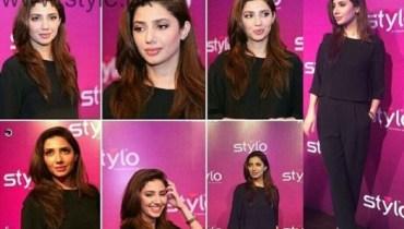 Mahira Khan Stylo Event Lahore
