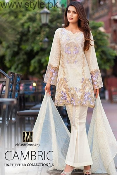 Mausummery Cambric Dresses 2016 For Women001