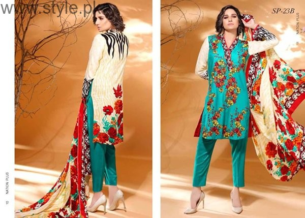 Nation By Riaz Arts Fall Dresses 2016 For Women00