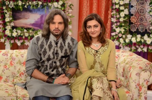 Nouman Javaid and Jana Malik's Mehndi Pictures (15)