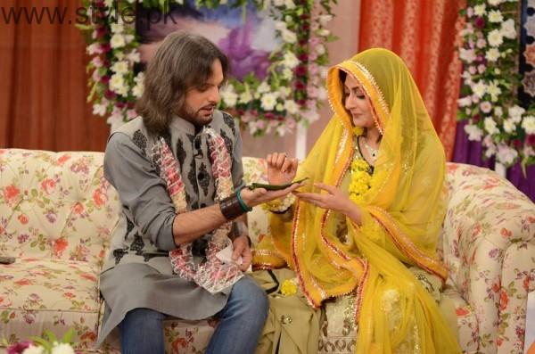 Nouman Javaid and Jana Malik's Mehndi Pictures (5)