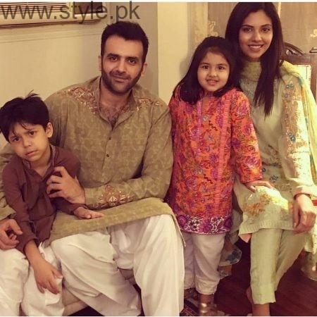 Pakistani Celebrities on Eid-ul-Azha 2016 Day 1 (9)