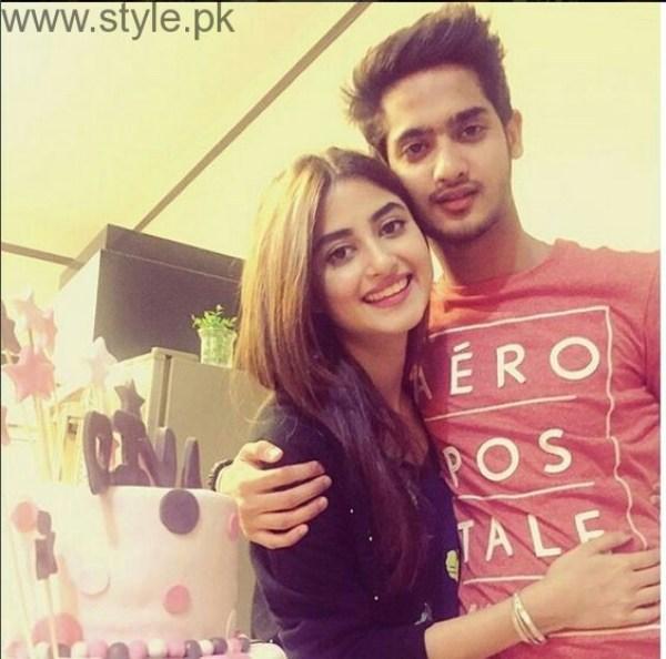 Sajal Ali Brother