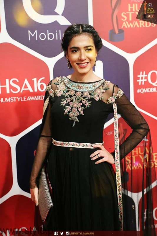 Celebrities at Qmobile HUM Style Awards 2016 (22)